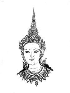 Literature Thai Lady