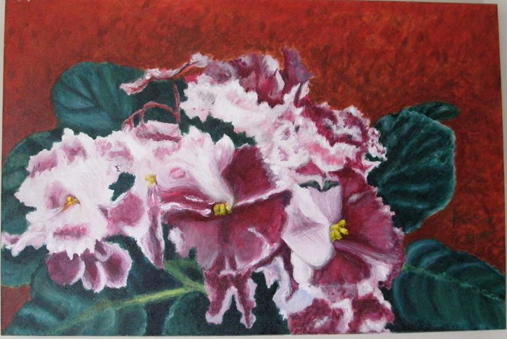 Violets ORIGINAL - annabrazao