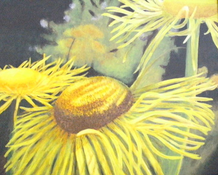 Cheerful Flowers ORIGINAL - annabrazao