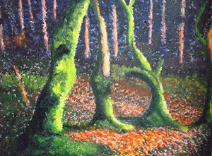 Fluorescent Forest ORIGINAL