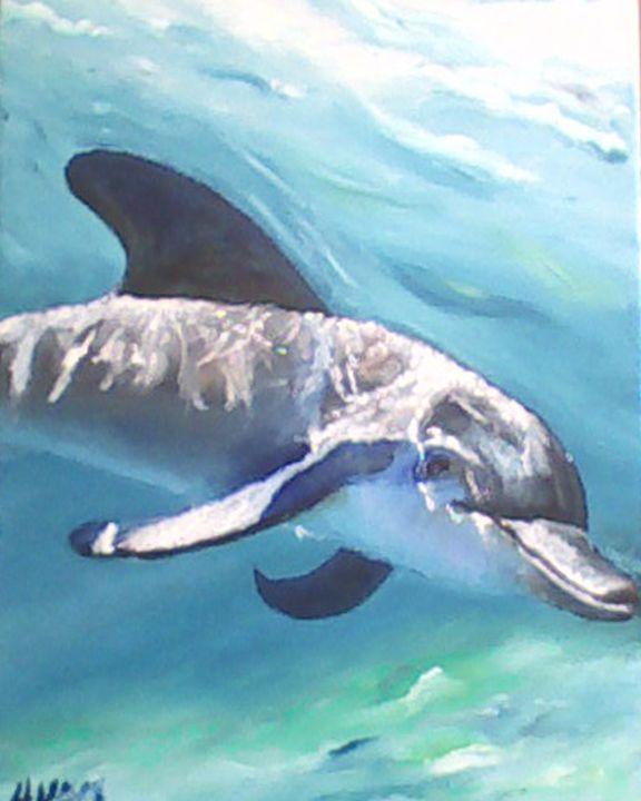 Blue Dolphin - Aislinn