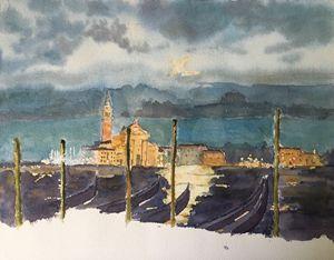 Watercolor San Giorgio Maggiore