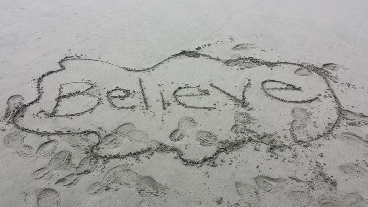 Believe - Kimberly's Kreations