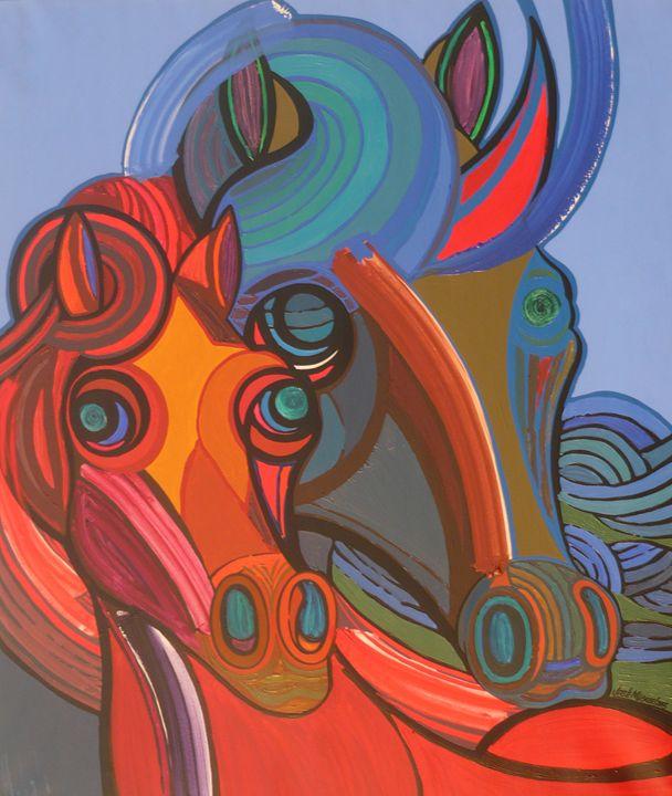 Mania of the horses - Jose Miguel Perez Hernandez
