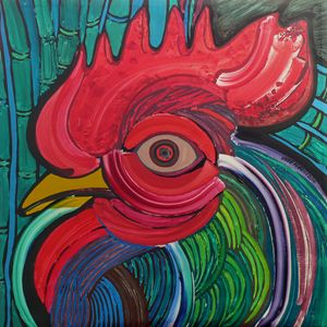 Head of Rooster to Fabelo