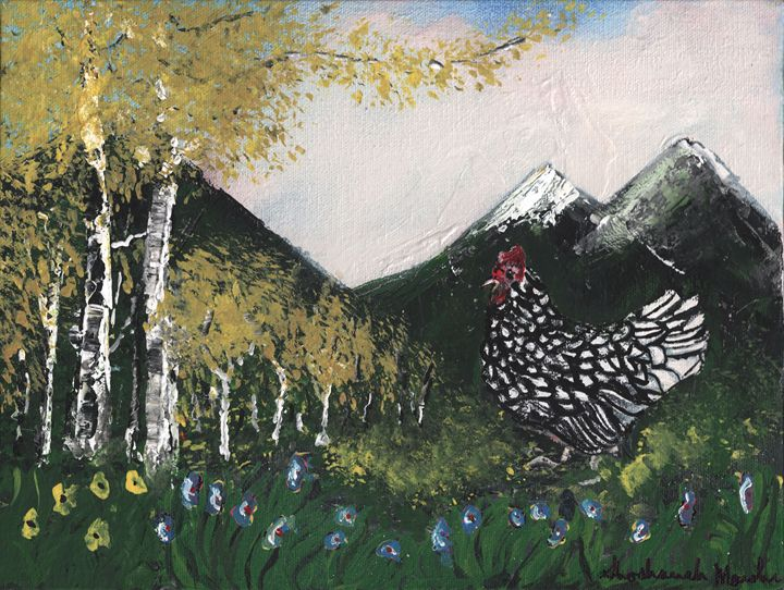 Year of the Rooster Number Two - Shoshanah's Art