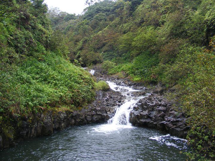 Sacred Waterfall - Catherine