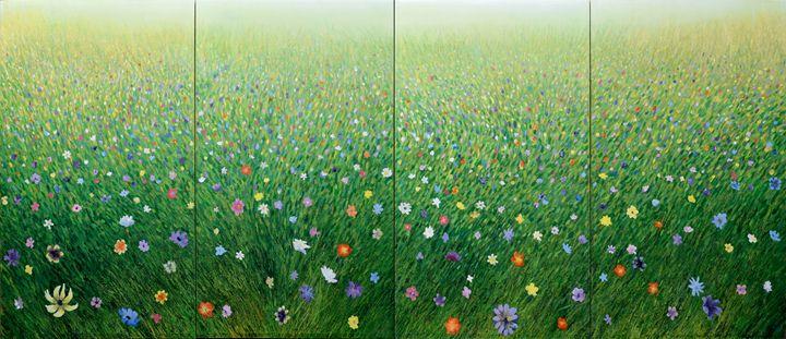 Mist Field QUAD - Geoff Greene Gallery