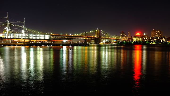 Brooklyn Bridge, New York. - BarryH Photography