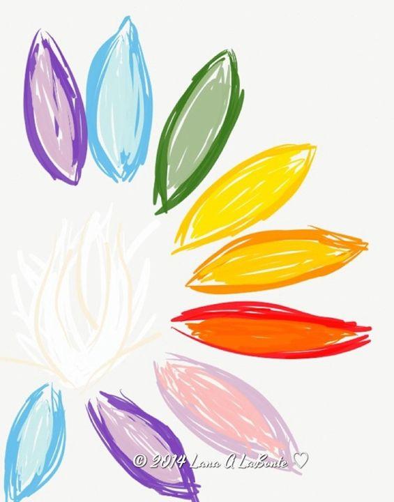 Rainbow Lotus - Embracing Inspiration