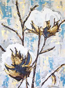 """""""Farmers Blues"""" - J. Sanford Art"""