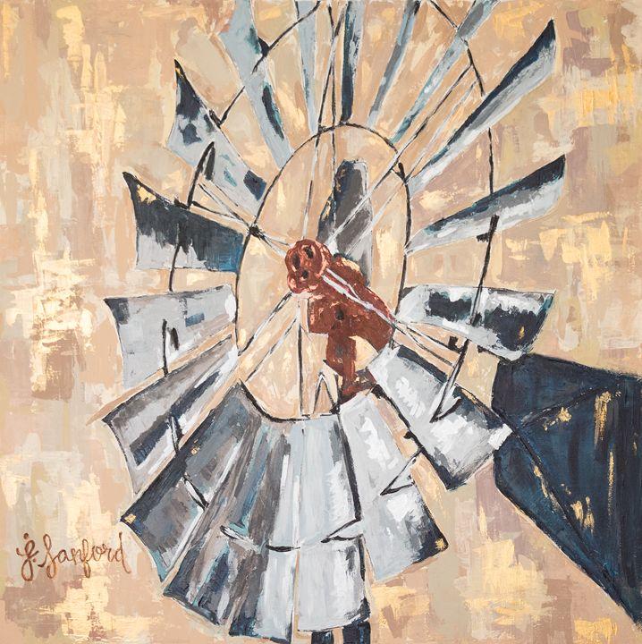 """""""Second Wind"""" - J. Sanford Art"""