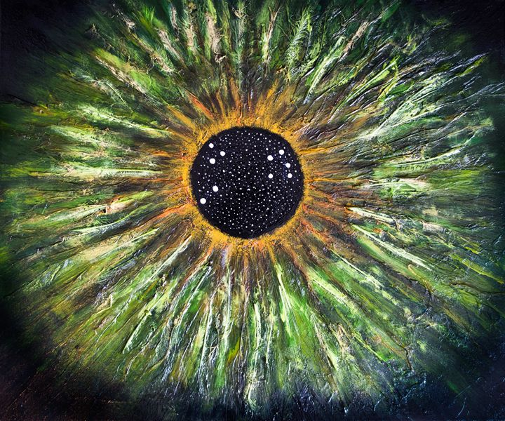 Aries Eye Constellation - Art by Presa