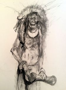 The Huli witch doctor