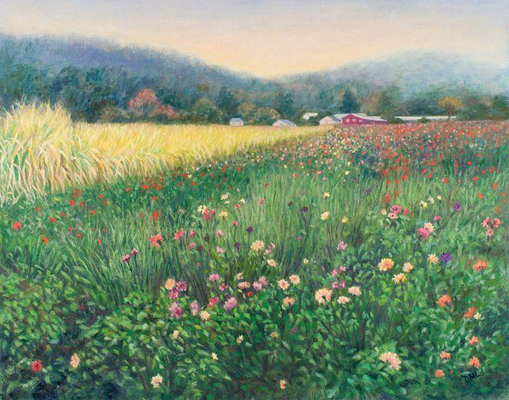Flower Farm Half Moon Bay - Denise Sils, Inc.