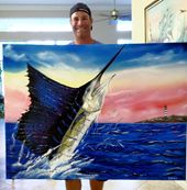 Ocean Blue Paintings