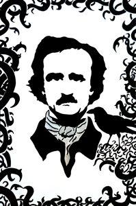E.A. Poe - Portrait