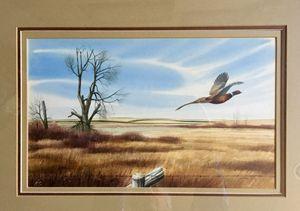 Untitled Orig Pheasant watercolor