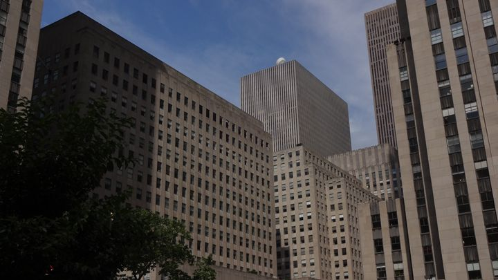 Rockefeller Plaza - George Hertz