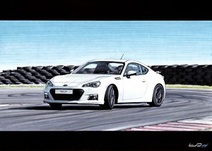 TOYOTA GT86 AUTOMOBILE DRIFTING