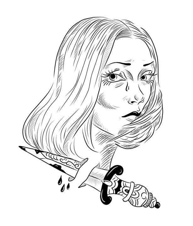 Bloody tears - Ioana Nobis