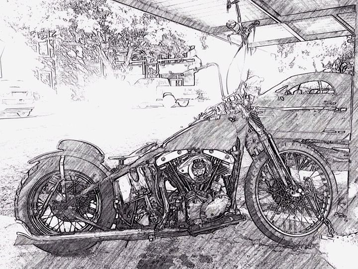 '69 Harley in '14 - Ryan William Delahunt
