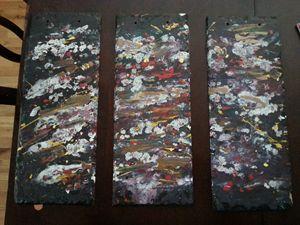 Slate abstract