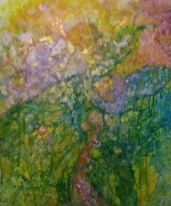 Love and abundance in a leaf - Divine inspiration