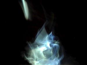 Smoke bulb.
