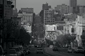 San Francisco in the Morning