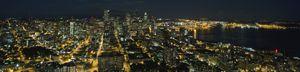 Downtown Seattle Night