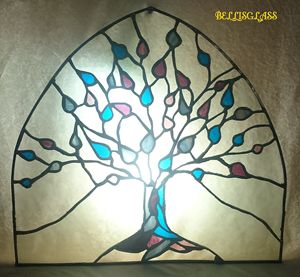 Tree- stained glass