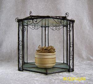 Fairy glass pavilion