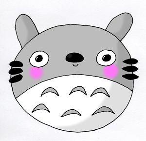 Kawaii Cute Totoro (Studio Ghibli) I