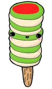 Kawaii Twister Fun Ice-Lolly