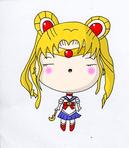 Kawaii Chibi Anime Sailor Moon Cutey
