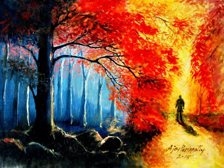 Journey to Spring - Ajayparippally