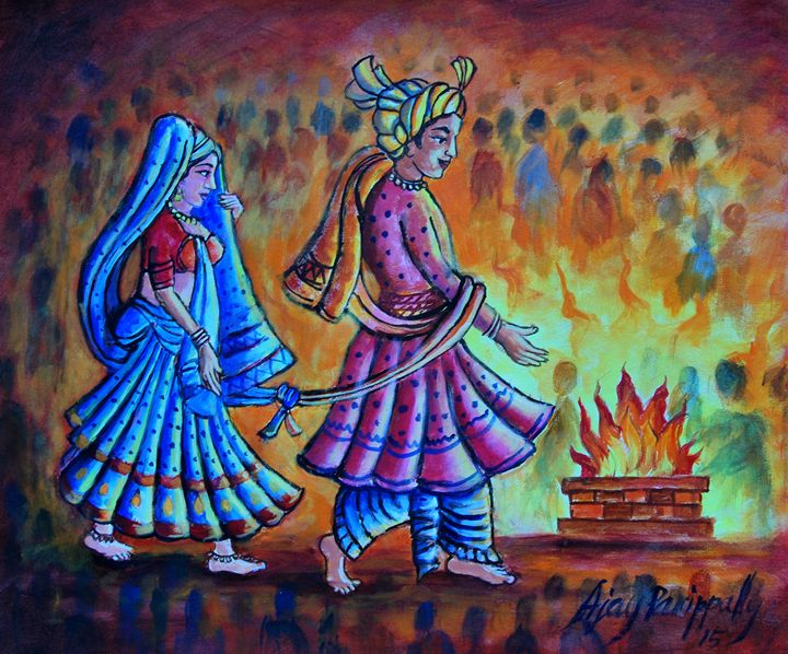 wedding of Hindu - Ajayparippally