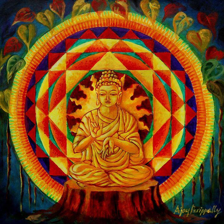 Buddha's Enlightment - Ajayparippally