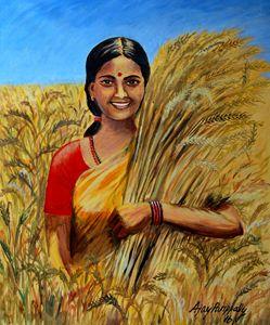 Happy of Harvest