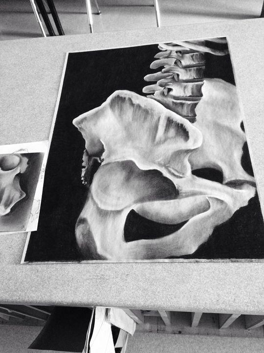 Bone - MichaelaArtworks