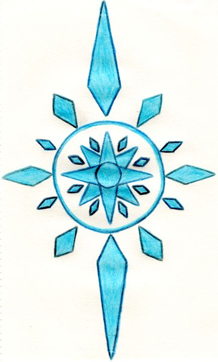 Crystal Compass (Colored) - Wolfe