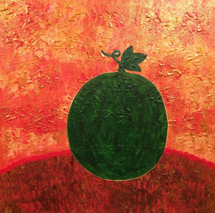Watermelon on the table - GI ART