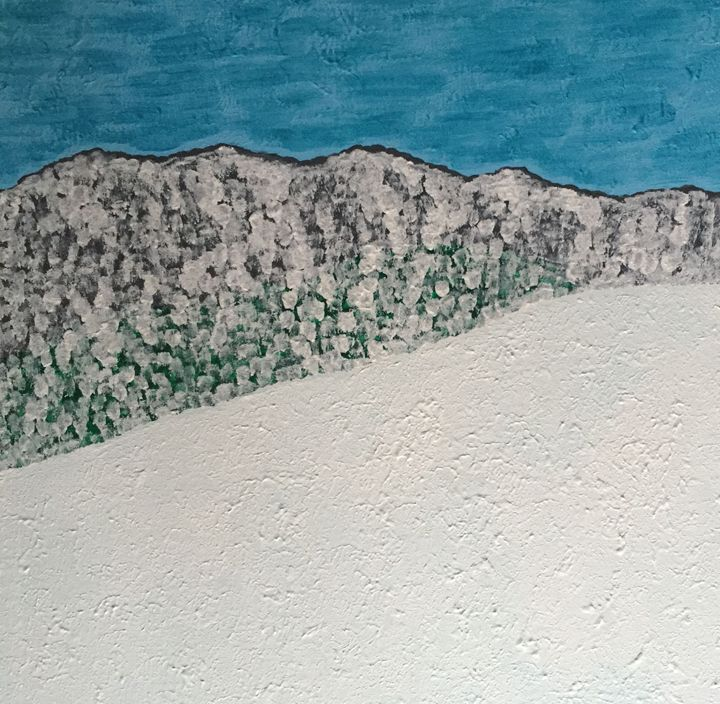 Winter in the mountains - GI ART