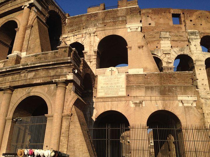 Martyrs of the Colosseum - PeaceAndSerenityArt