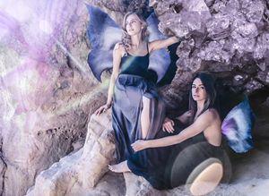 """Cave Fairies"" - Tiffany Luptak Photography"