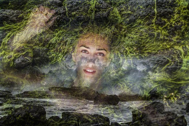 """Mermaid Awakening"" - Tiffany Luptak Photography"