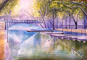 CANAL FRENCH SCENE