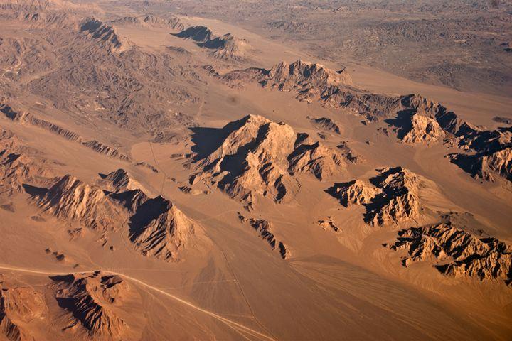 Iran Desert from top 6 - Behroz BL