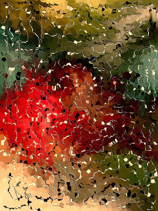 Scraps colors by rafi talby - RAFI TALBY - PAINTER